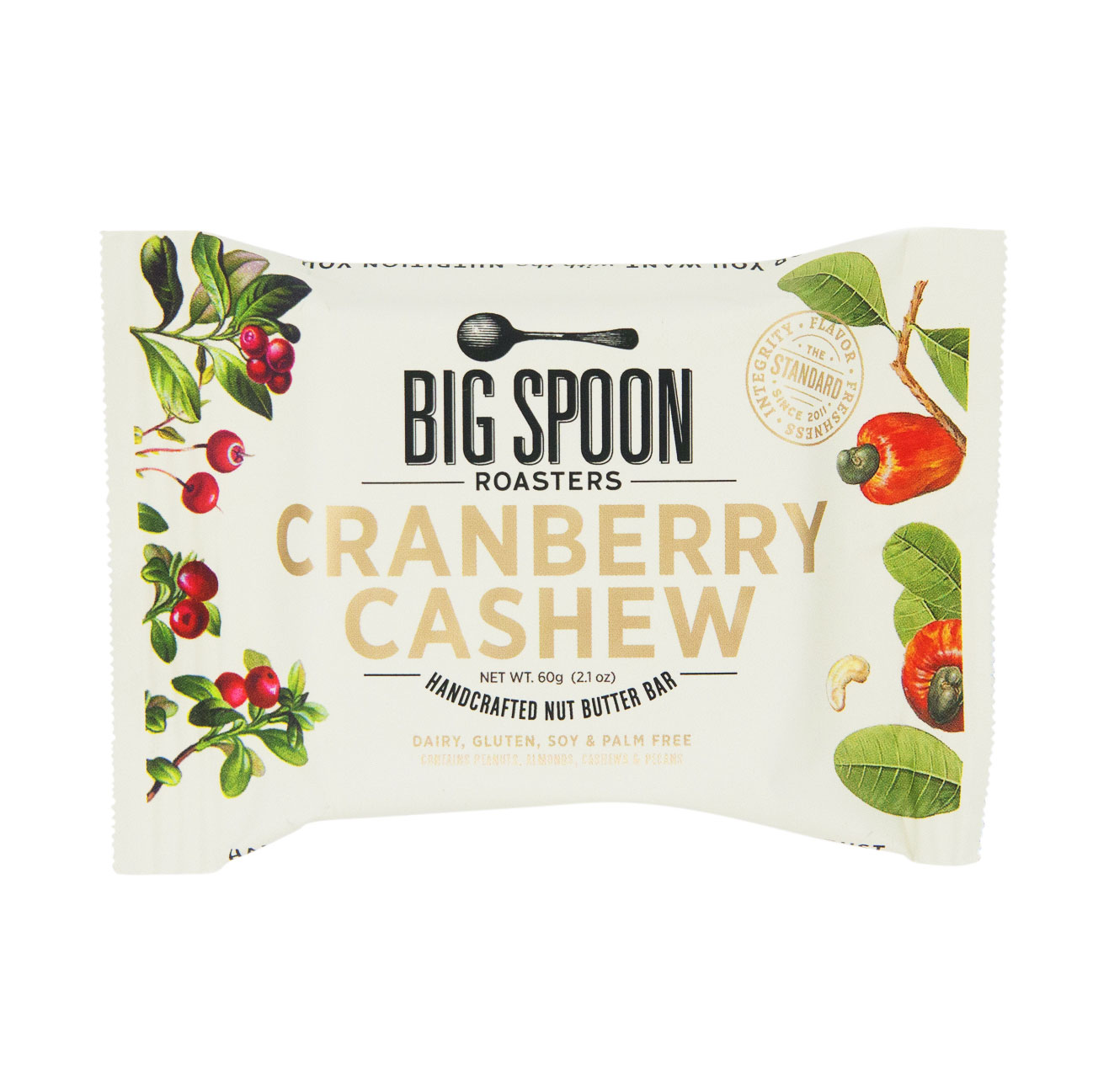 Best Snack Bars: Big Spoon Roasters Cranberry Cashew Nut Butter Bar