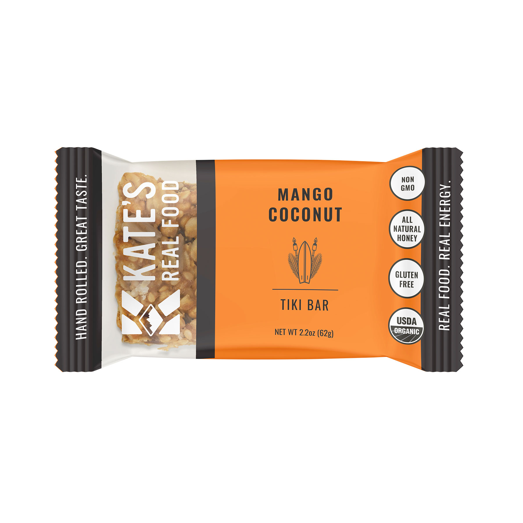 Best Snack Bars: Kate's Real Food Tiki Bar Mango & Coconut