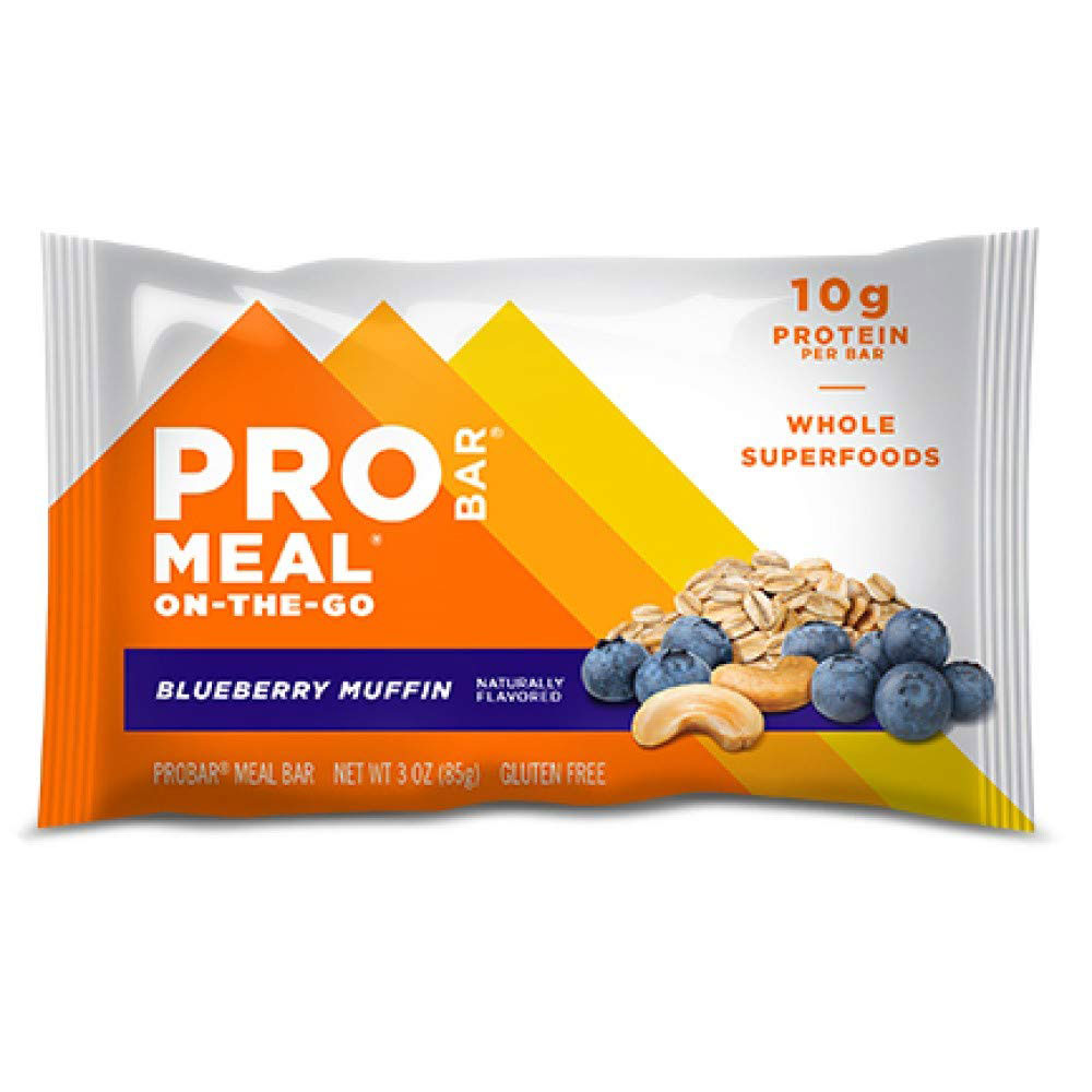 Best Snack Bars: Probar Meal On-the-Go Blueberry Muffin