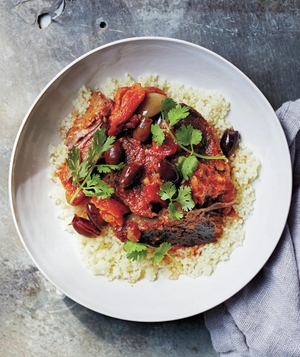 Moroccan Short Ribs with Couscous