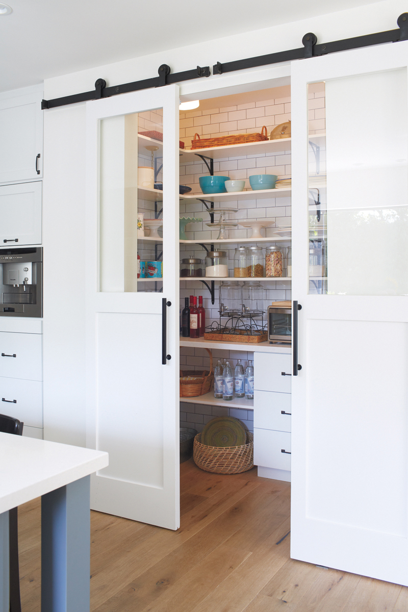 Pantry as storage and cook space