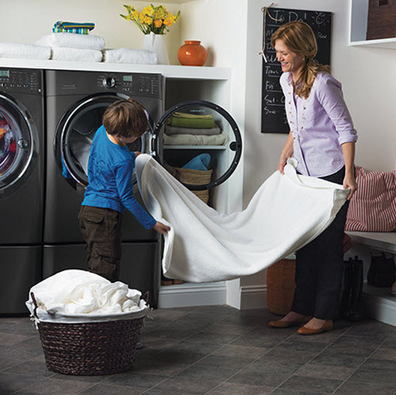 Electrolux S60LT Front Load Washer display