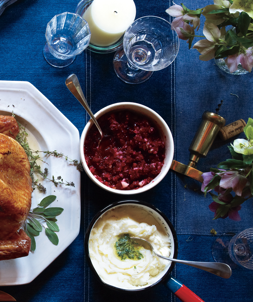 Cranberry Relish With Pear and Ginger