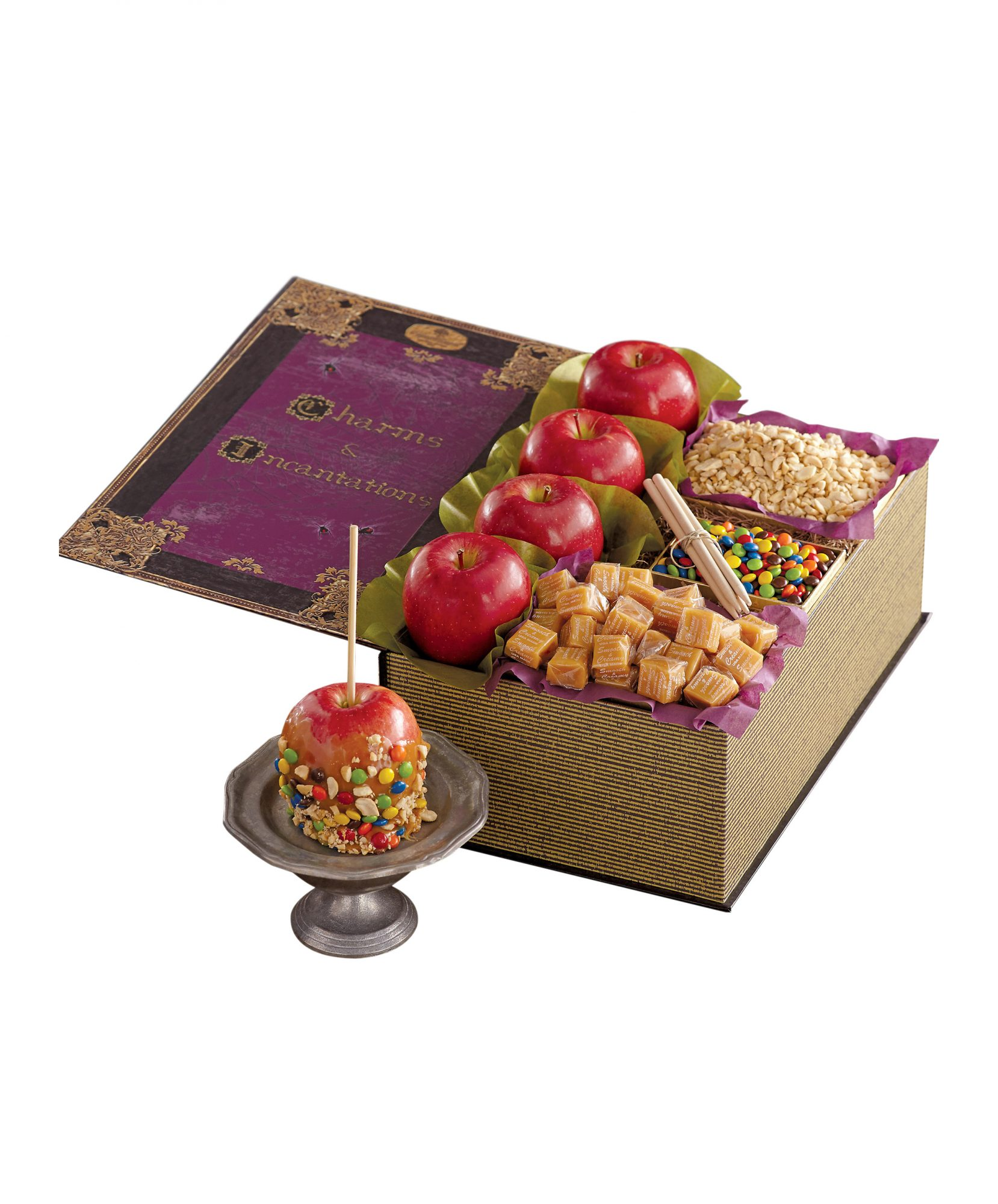 Harry & David Halloween Caramel Apple Kit