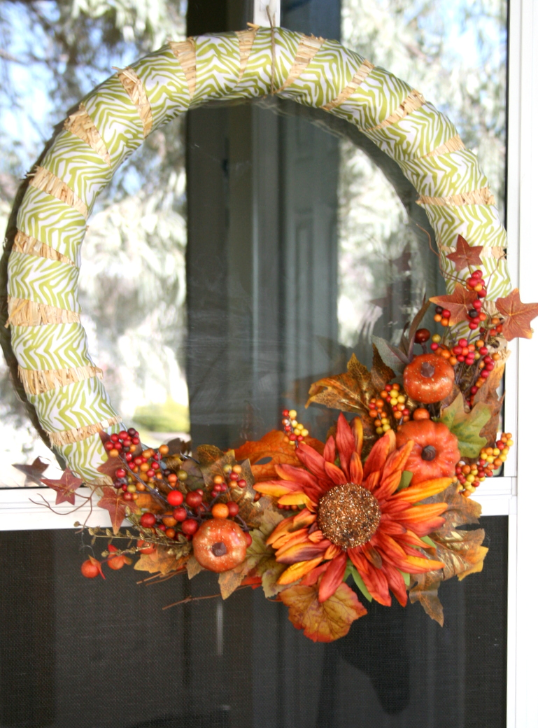 straw wreath