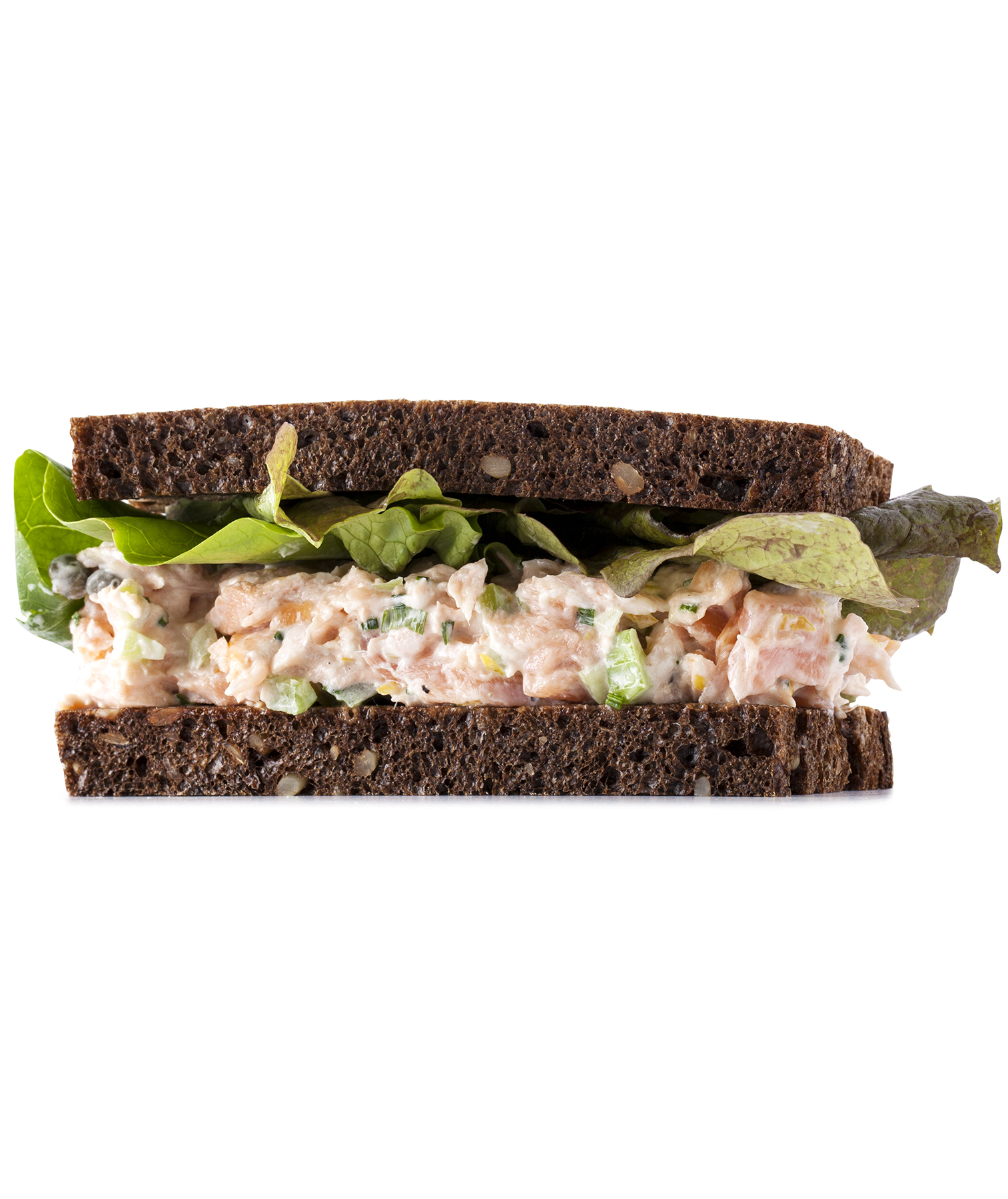 Smoked Salmon Salad Sandwich