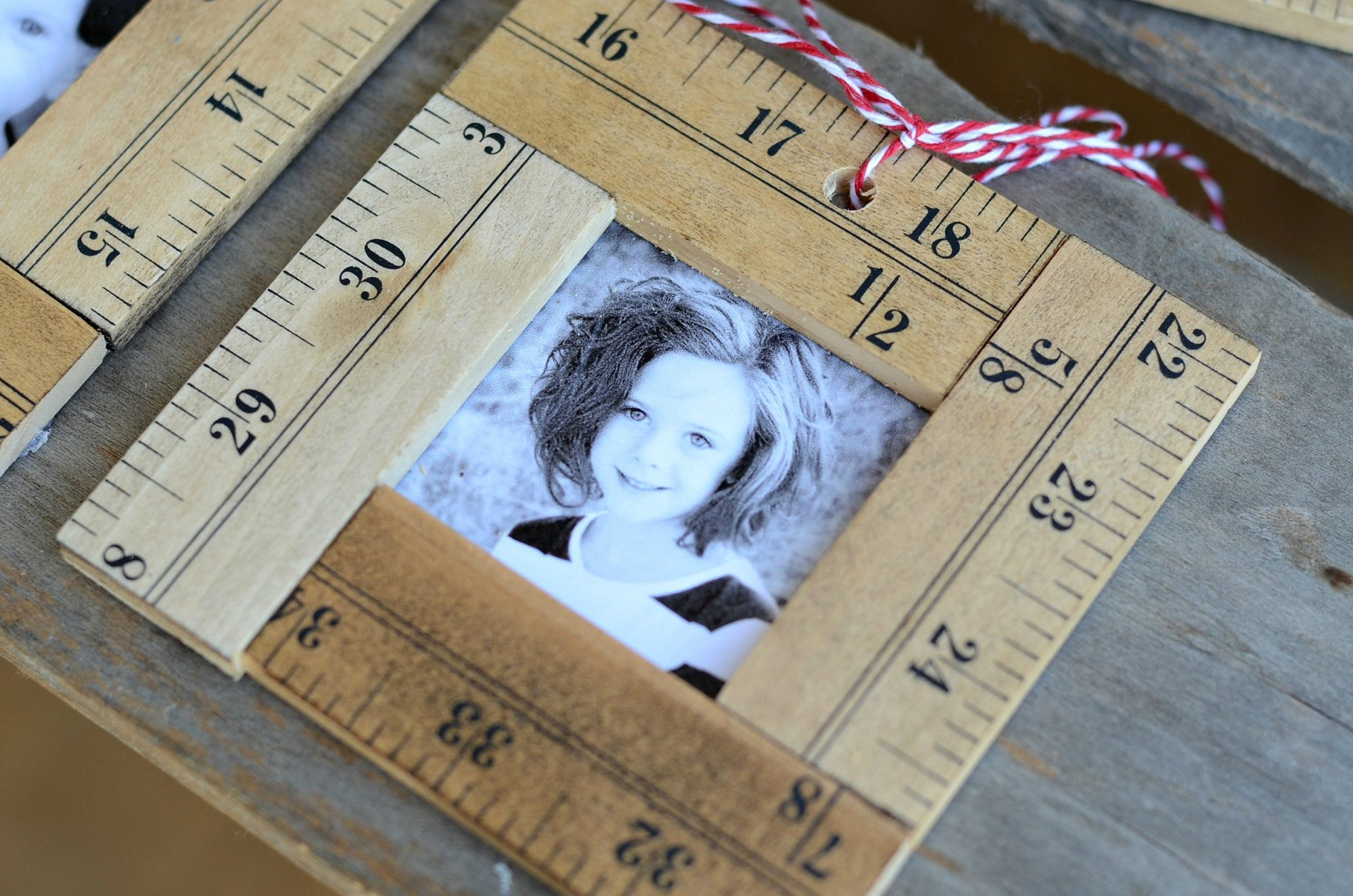 Ruler Photo Ornament