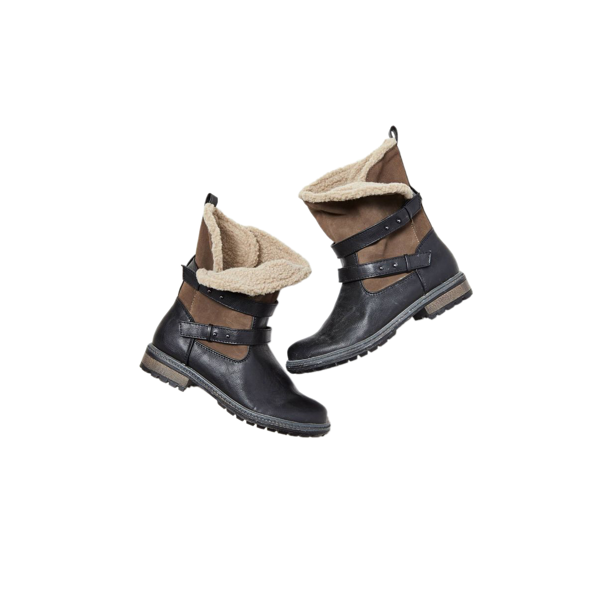 American Eagle Outfitters Sherpa Lined Moto Bootie