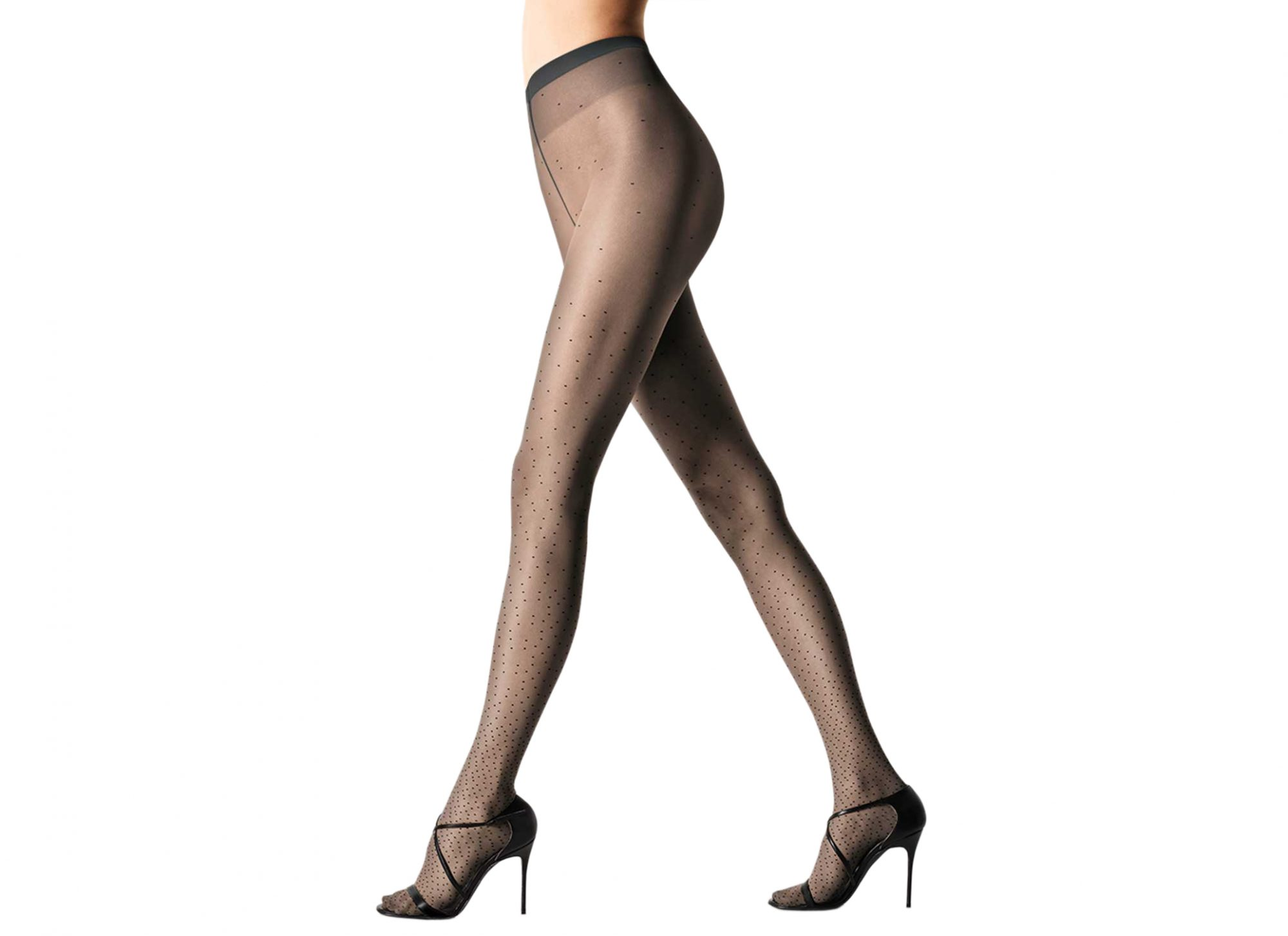 Wolford Poppy Tights Anthracite