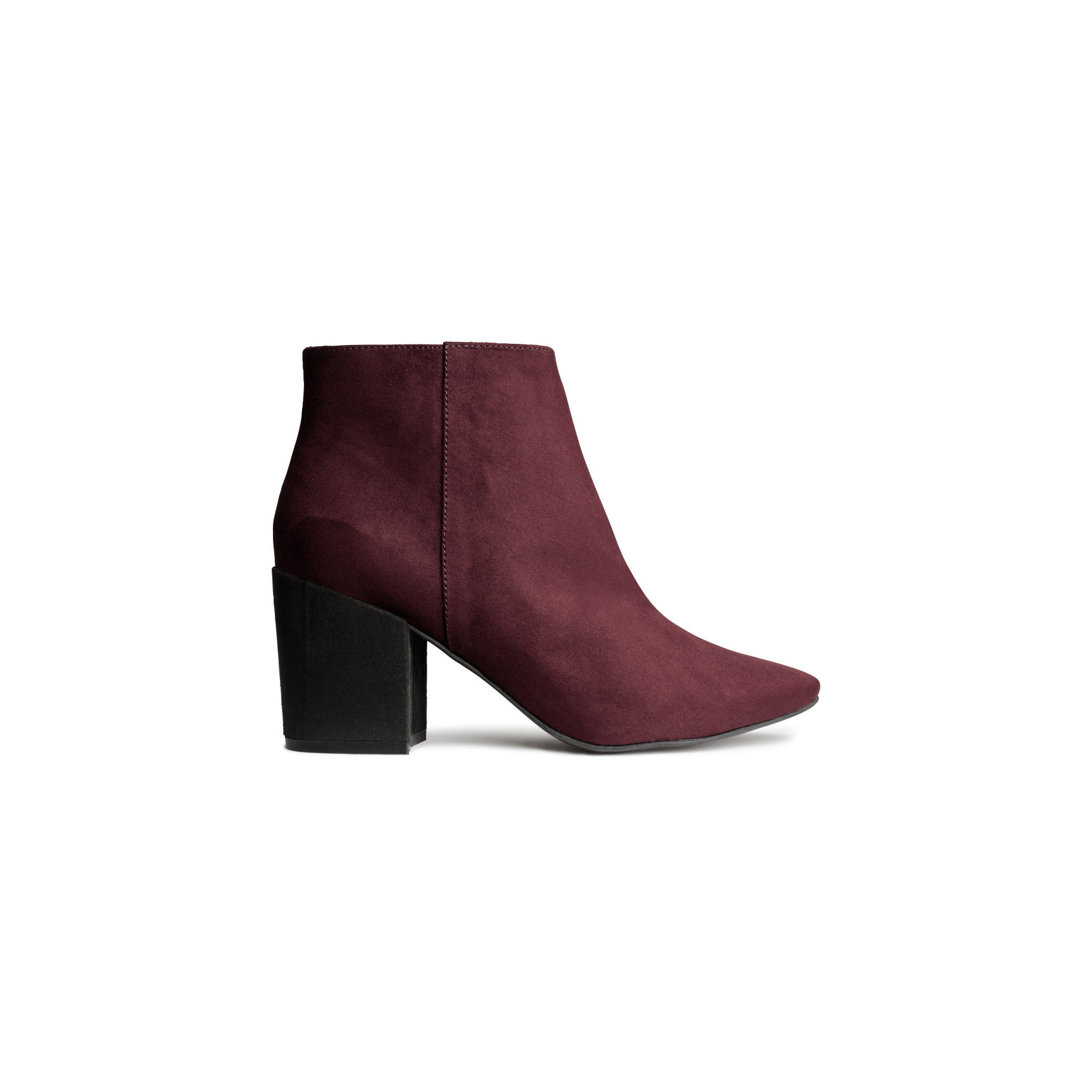 H&M Ankle Boots Burgundy