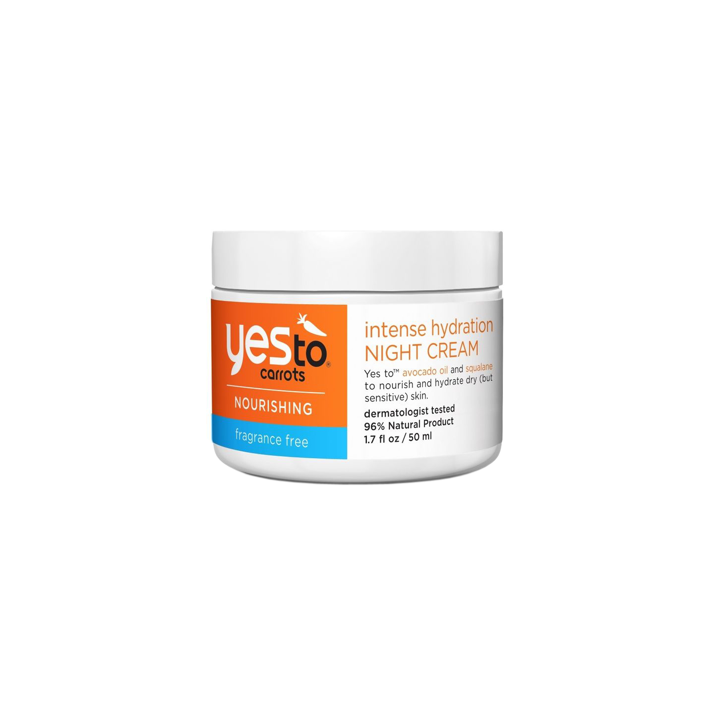 Yes To Carrots Intense Hydration Night Cream