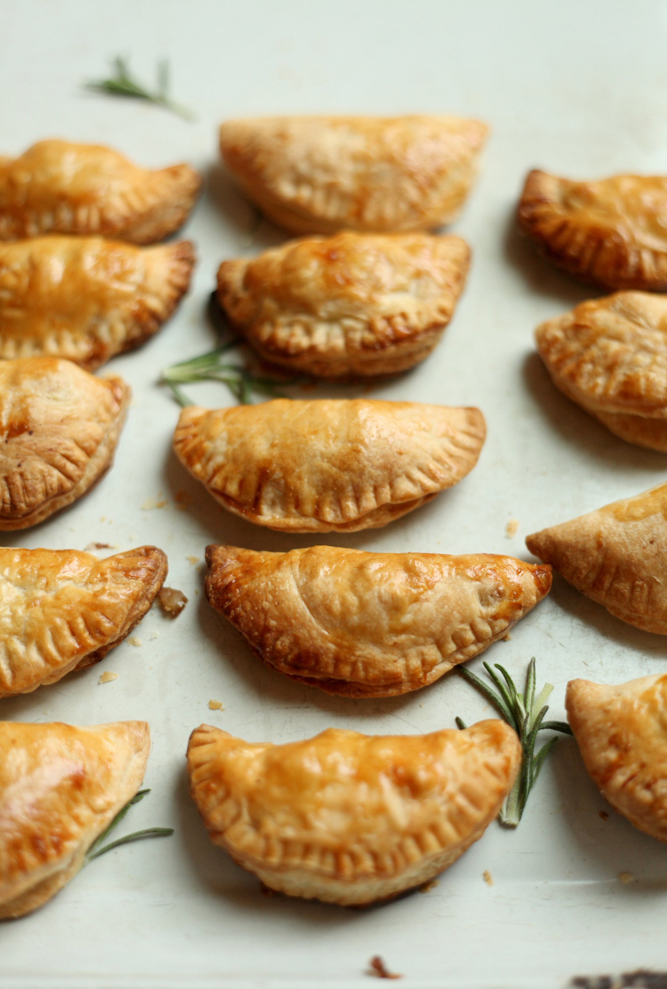 Sweet Potato and Parsnip Hand Pies