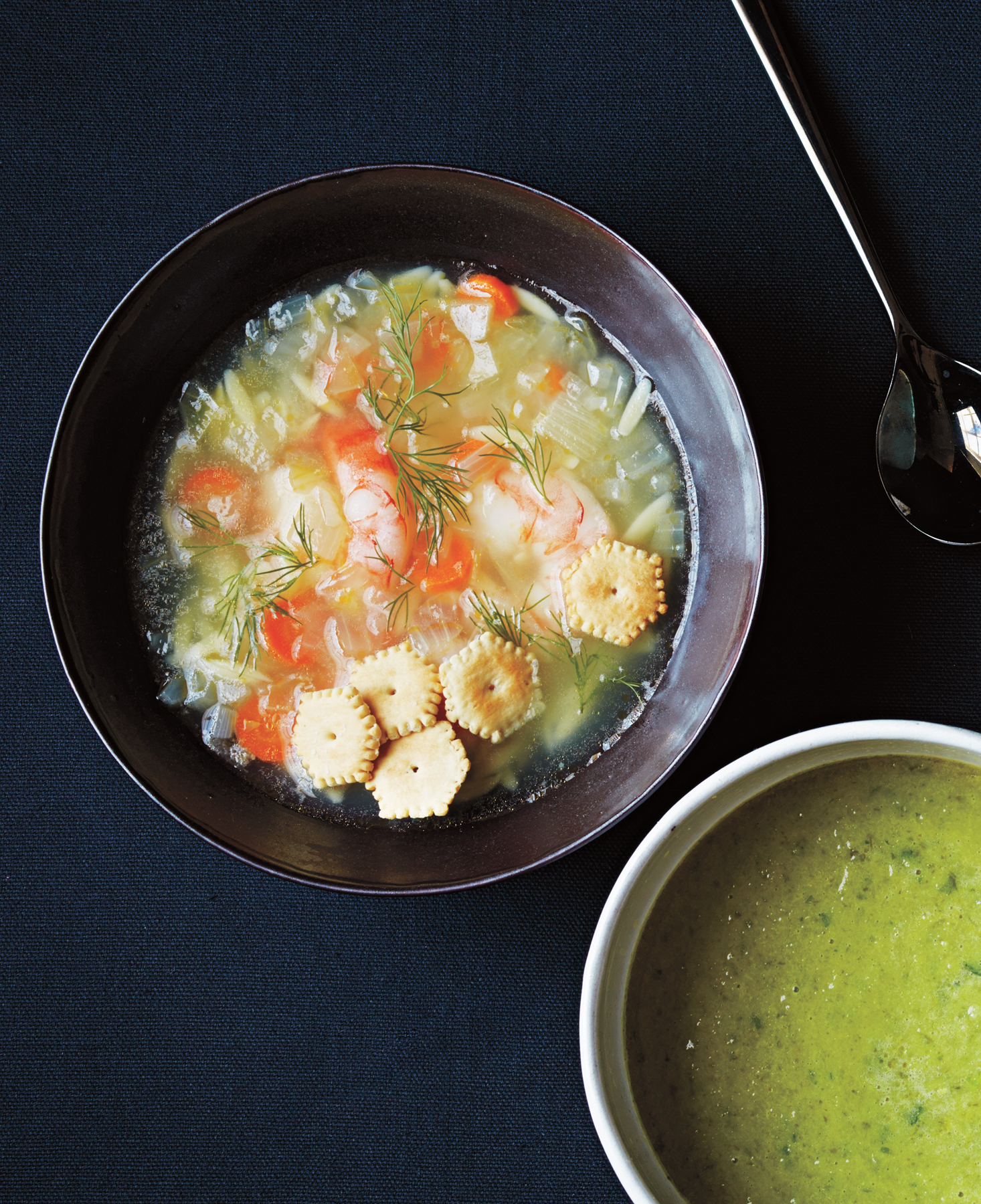 Greek Shrimp and Dill Soup