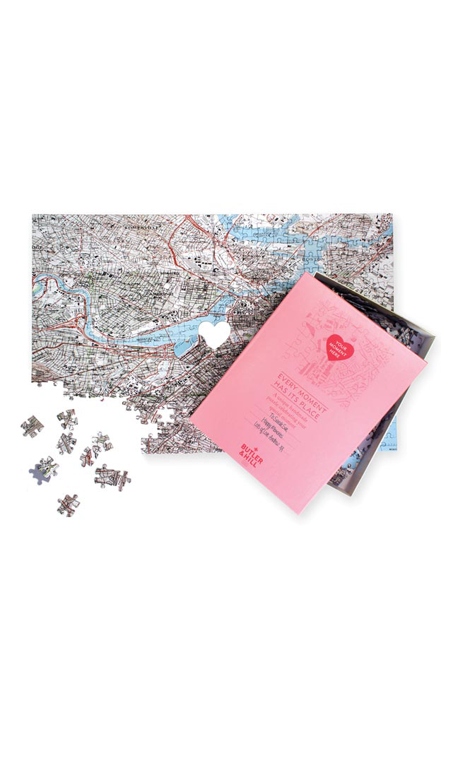 """""""Where We Met"""" Jigsaw Puzzle"""