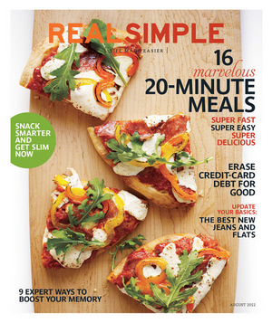 Real Simple August 2012