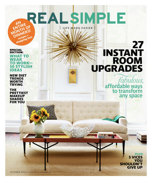Real Simple October 2012