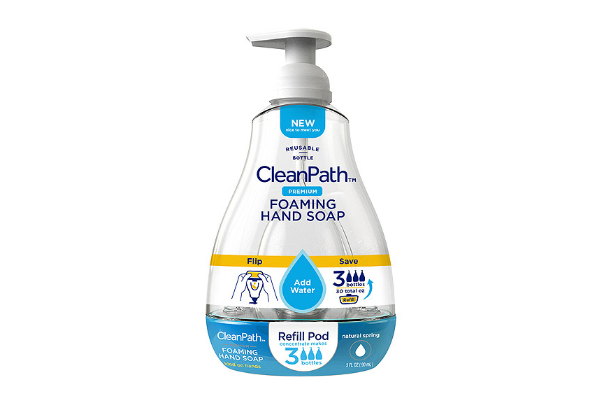 CleanPath Natural Spring Foaming Hand Soap