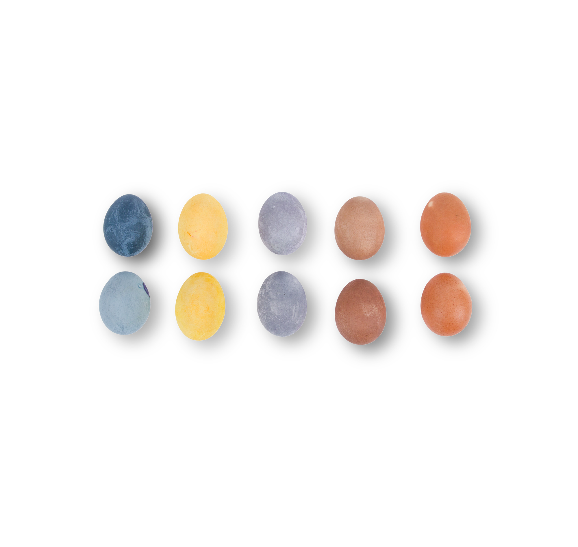 Easter egg ideas - Natural Dyed Easter Eggs