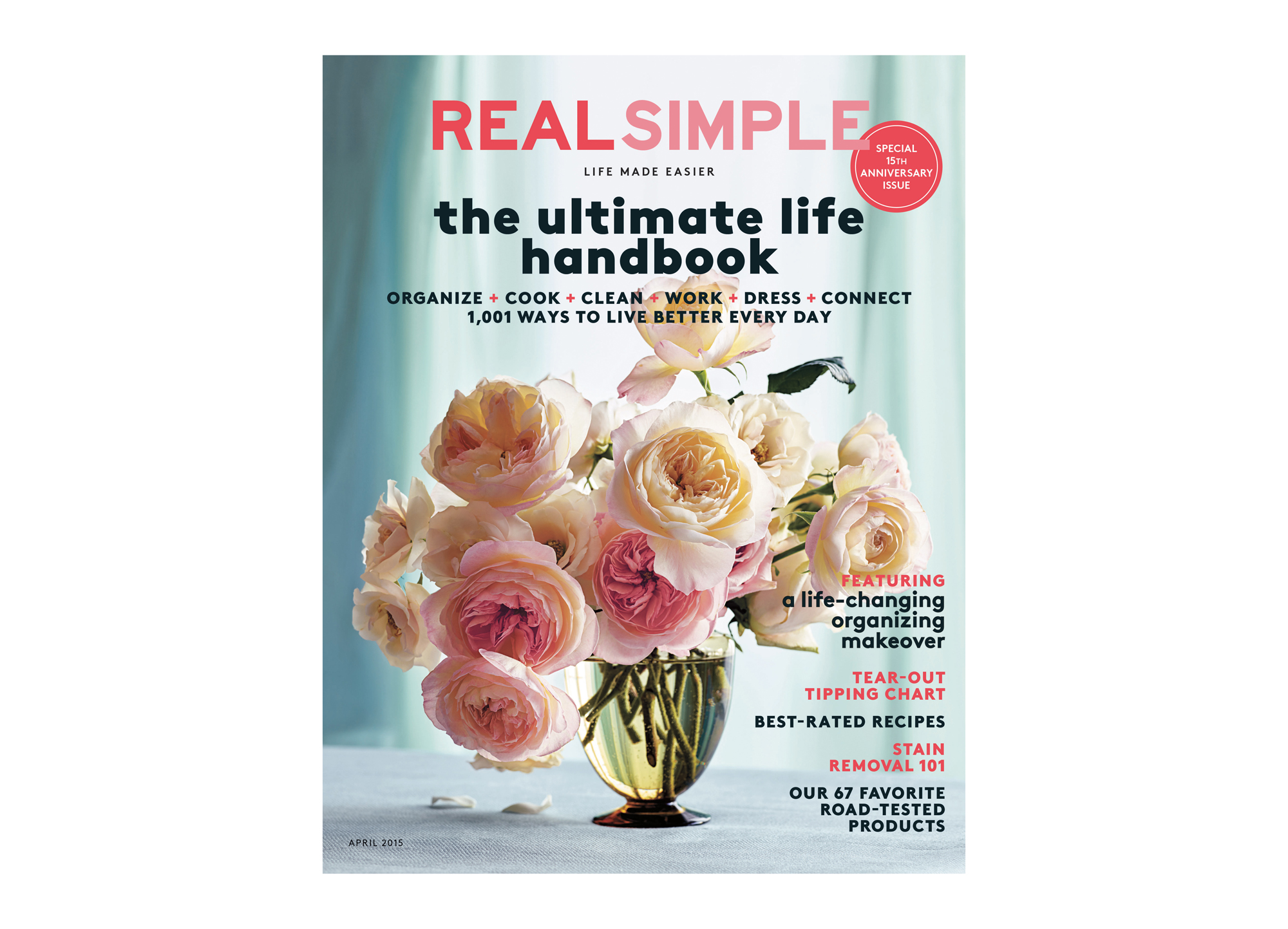Real Simple April 2015 Cover