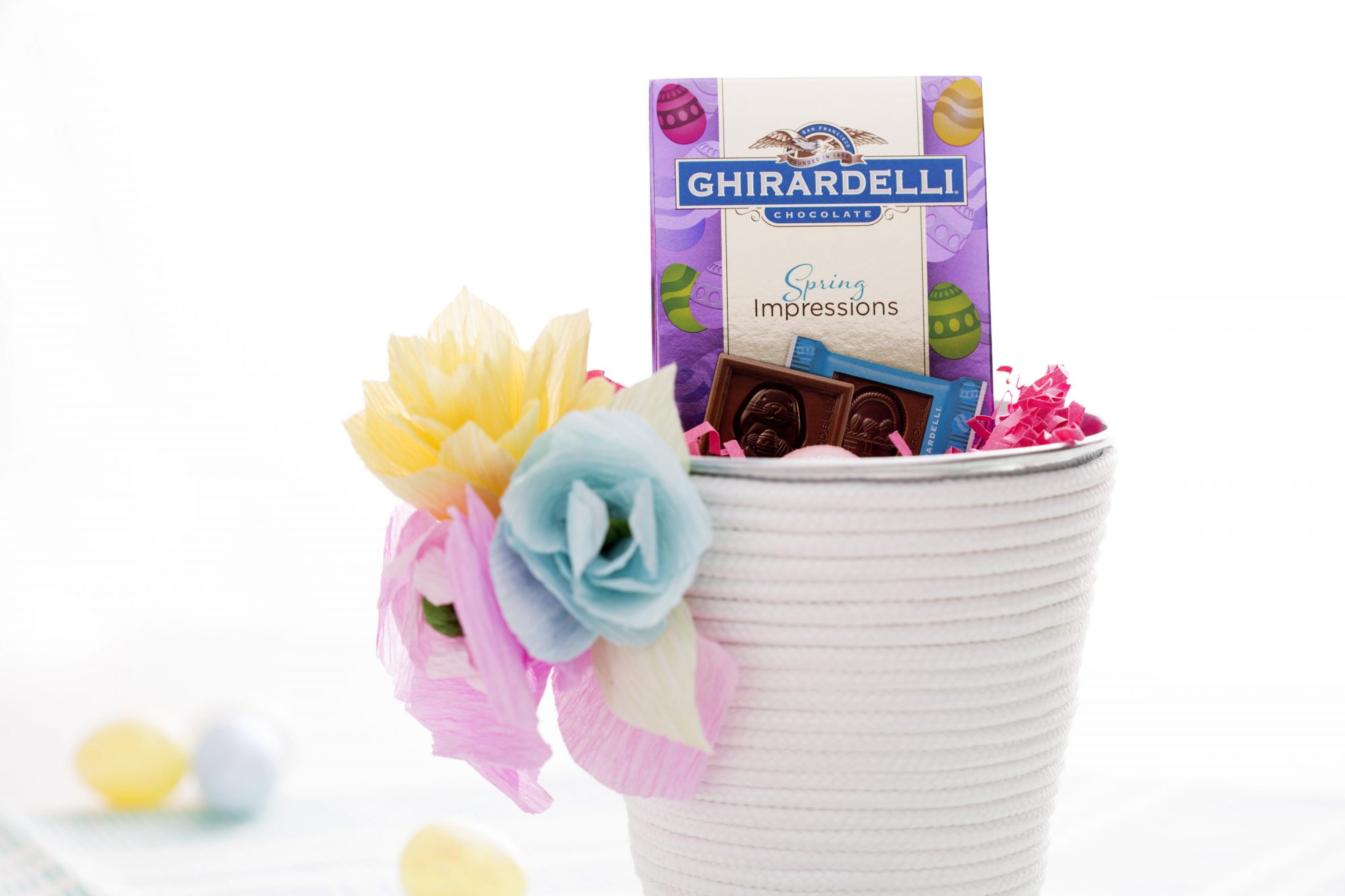 Ghirardelli Easter Pails