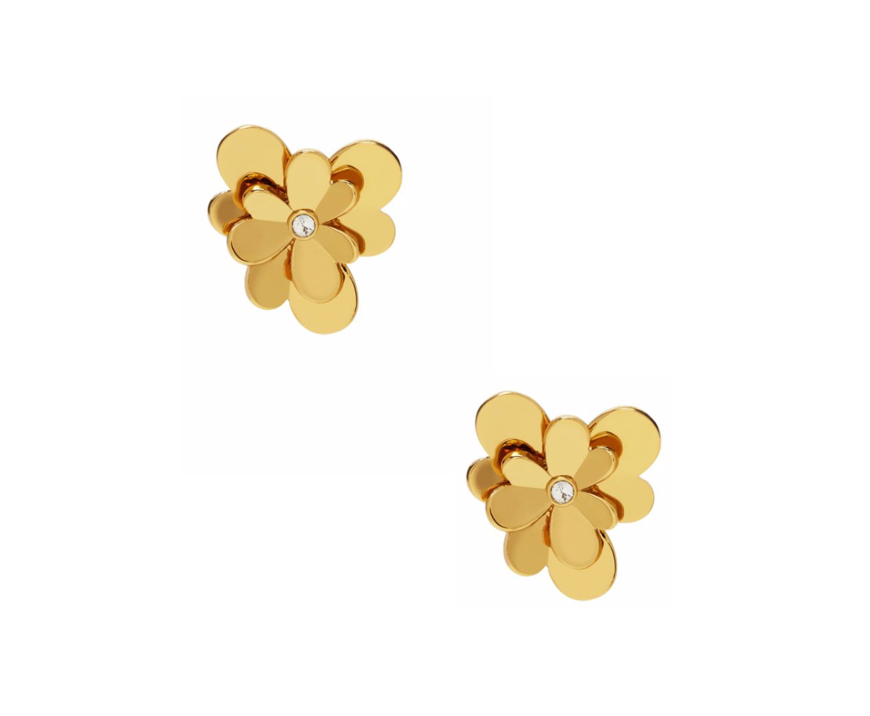 Kate Spade New York Pansy Blossoms Studs