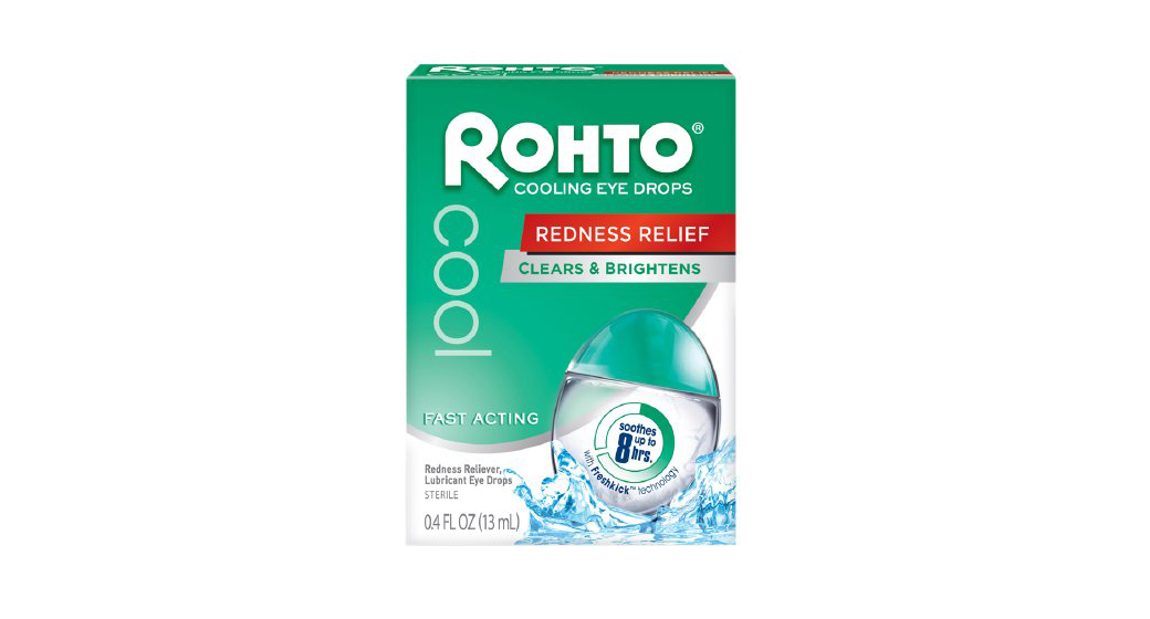 Rohto Cool Redness Reliever Lubricant Eye Drops