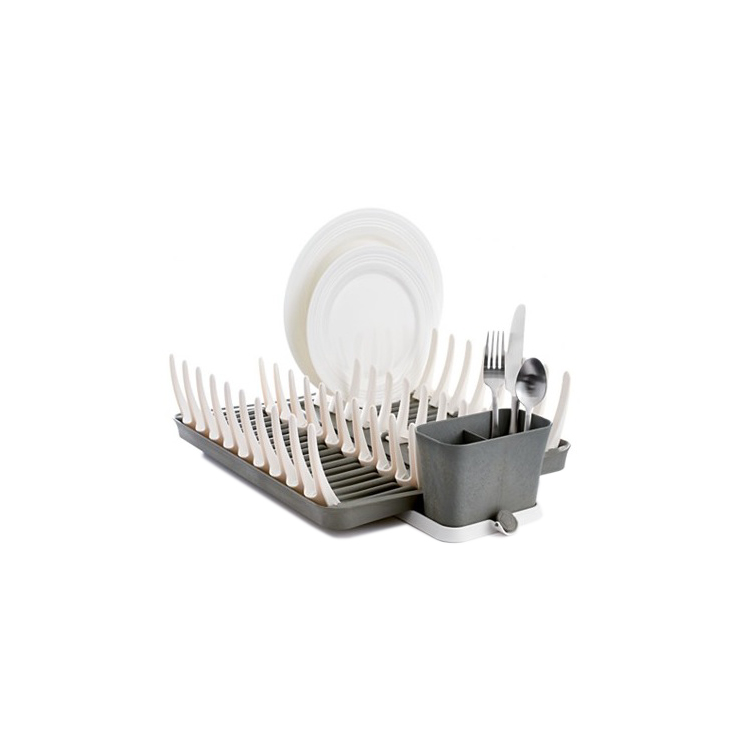 Full Circle's Adjustable and Foldable Dish Rack