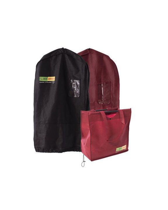 Green Garmento Dry Cleaning Bag Real