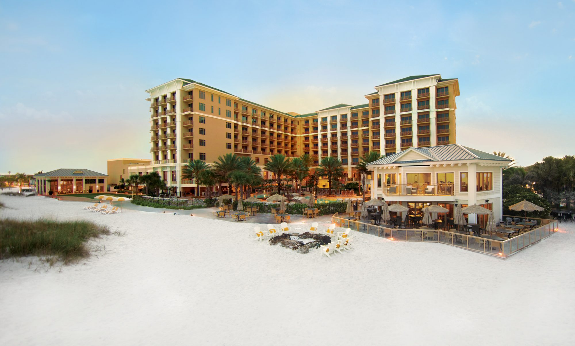 No. 20 Sandpearl Resort in Clearwater Beach, Florida