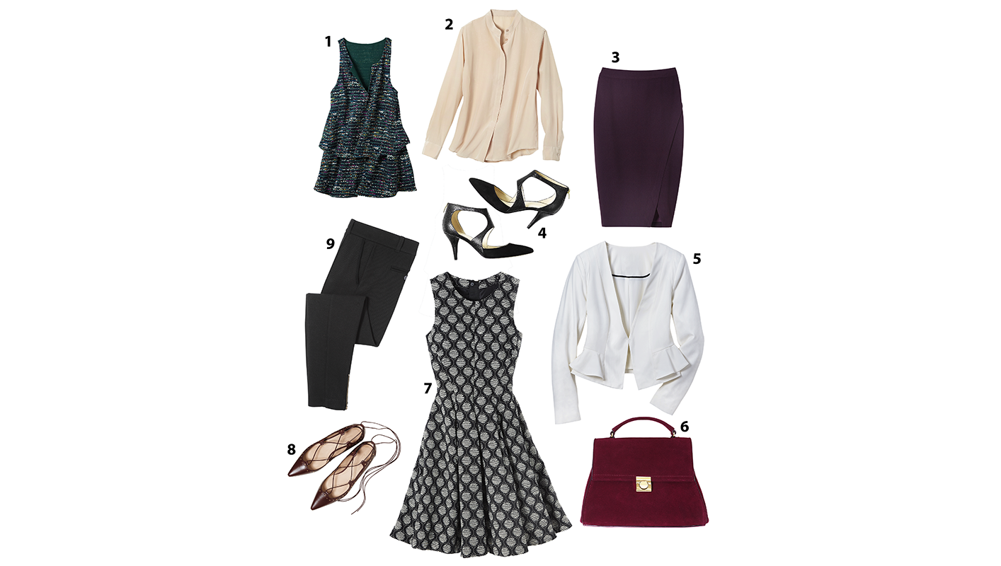 9 pieces for fall wardrobe