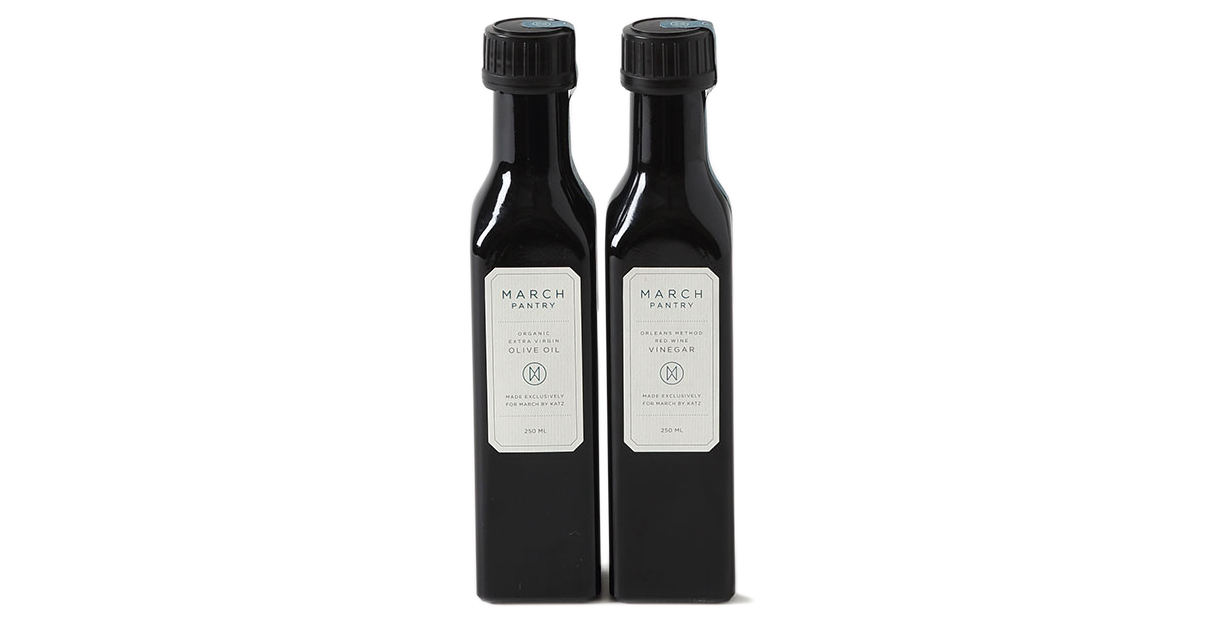March Pantry Olive Oil and Vinegar Set