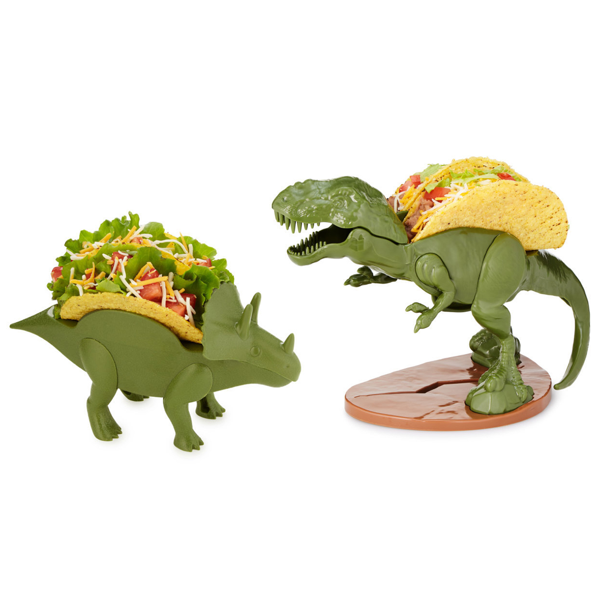Funny gifts for men - Dinosaur Taco Holders