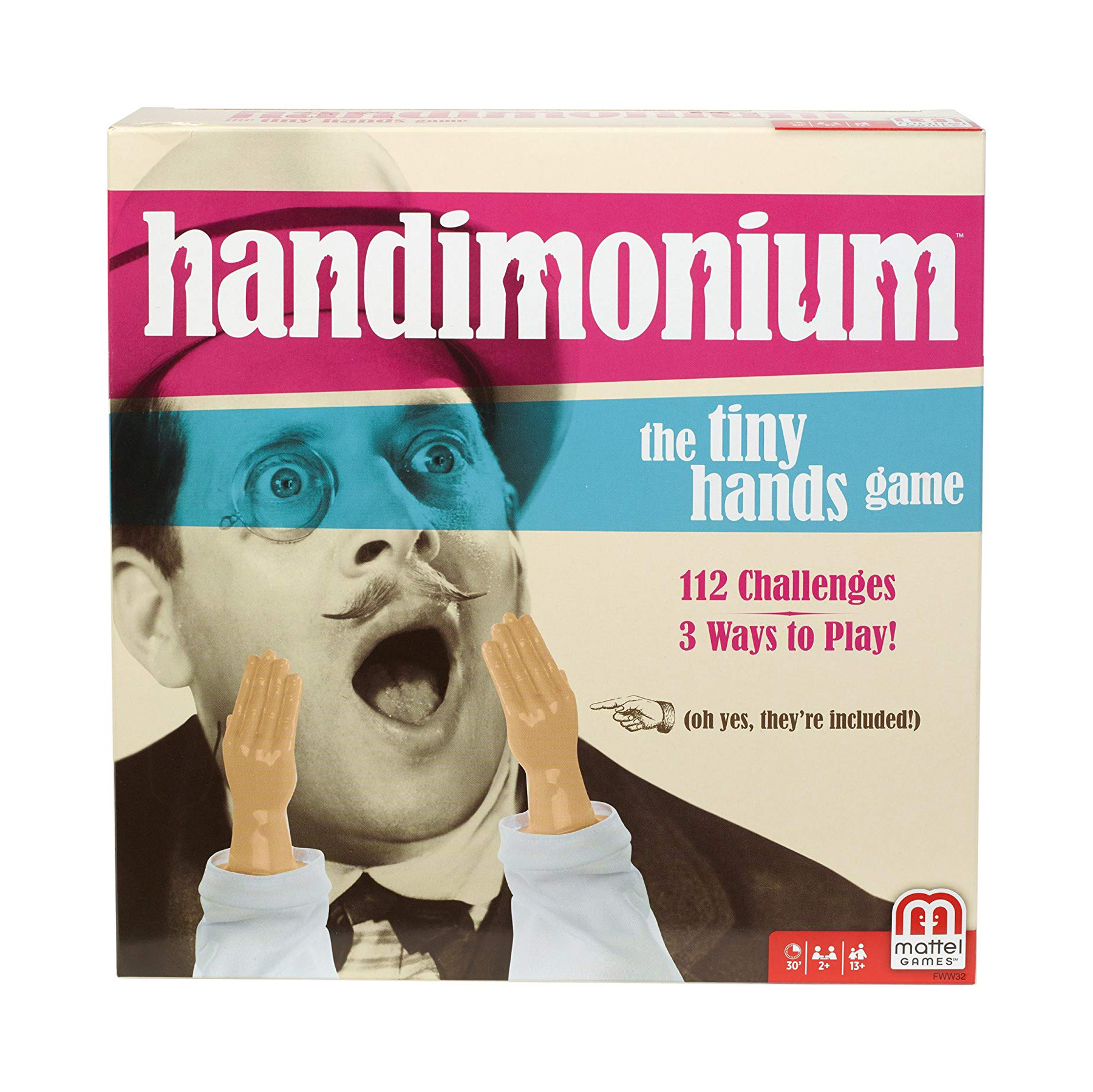 Funny gifts for men - Handimonium Game by Mattel Games
