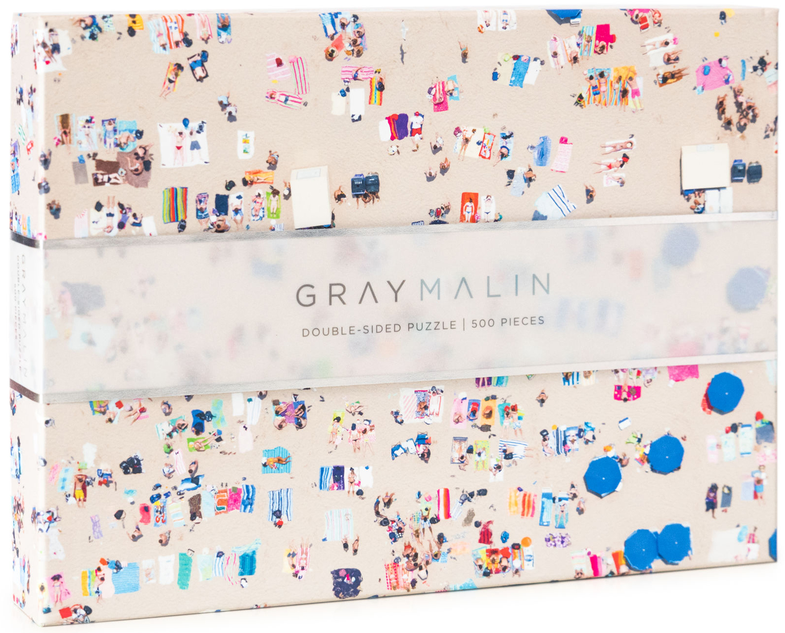 Gray Malin The Beach Two Sided Puzzle