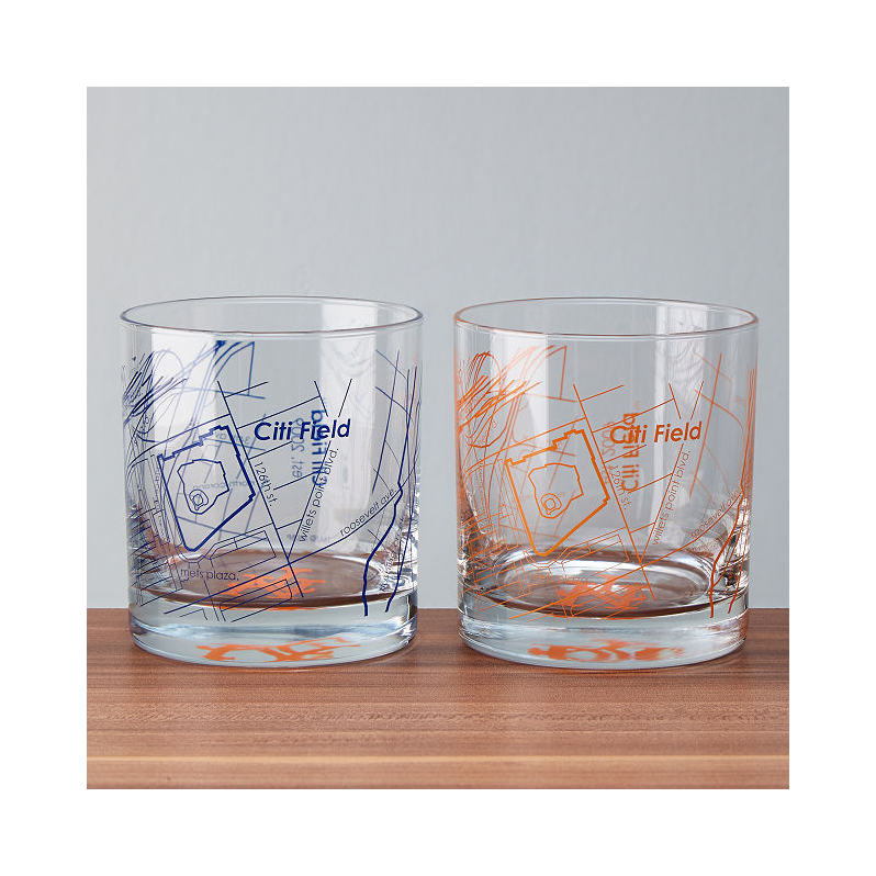 Uncommon Goods baseball park themed tumblers