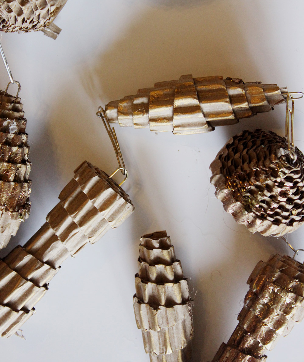 Craft Cardboard Pinecones