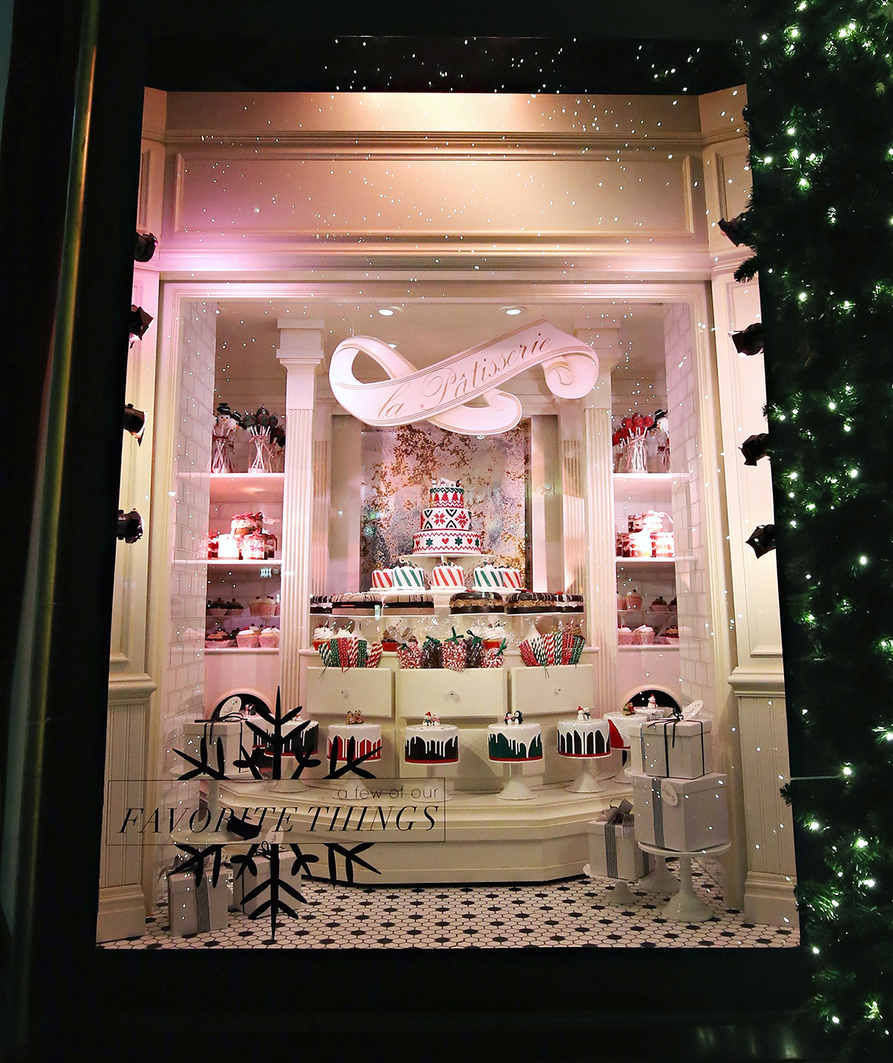 Lord & Taylor holiday window display