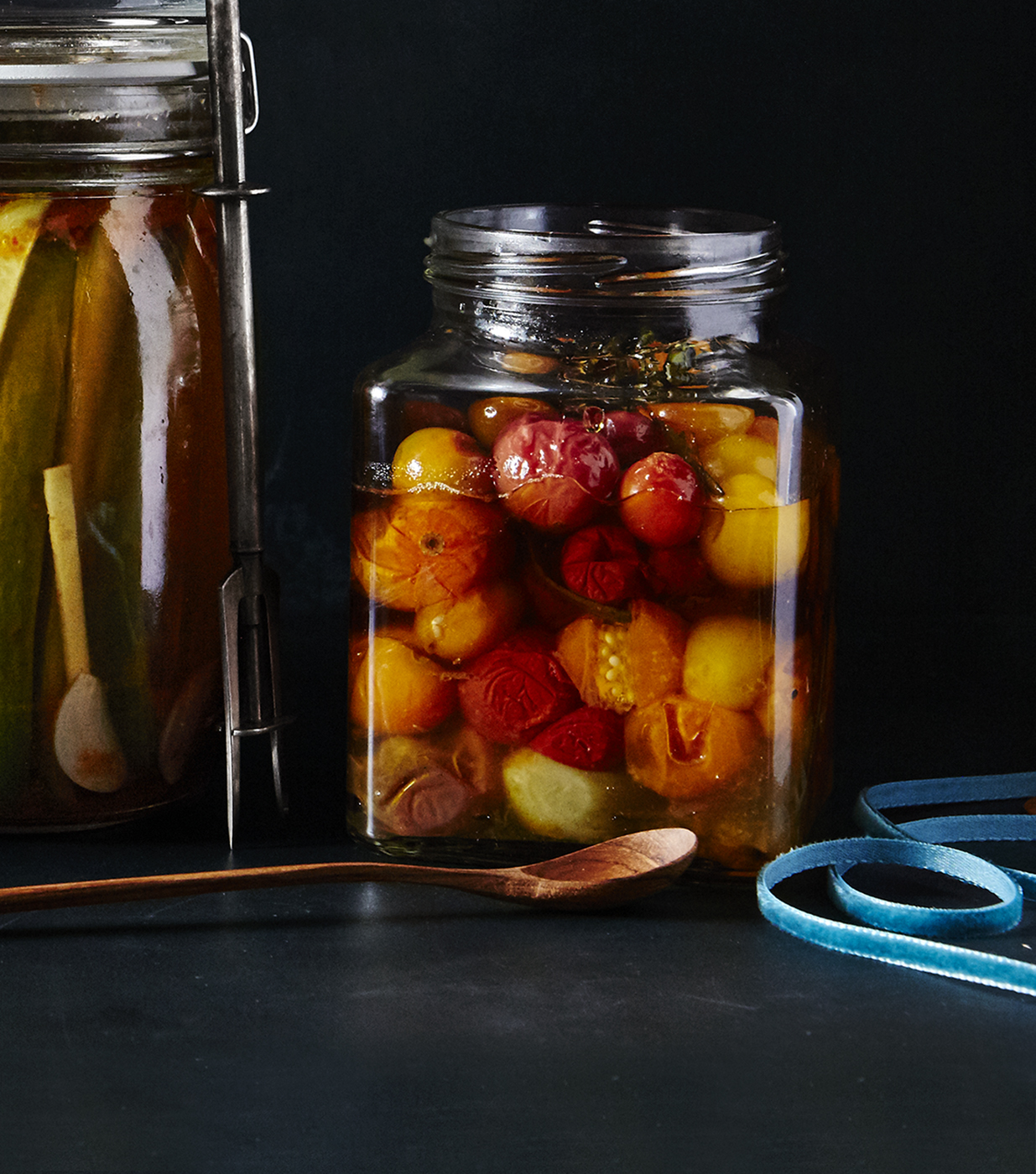homemade food gift recipes - Slow-Cooker Cherry Tomato Confit