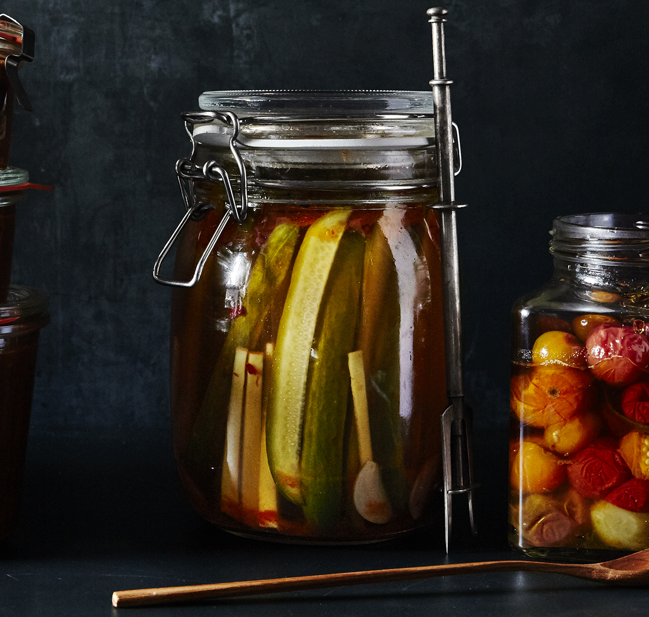 Homemade food gifts recipes: Quick Kimchi Pickles
