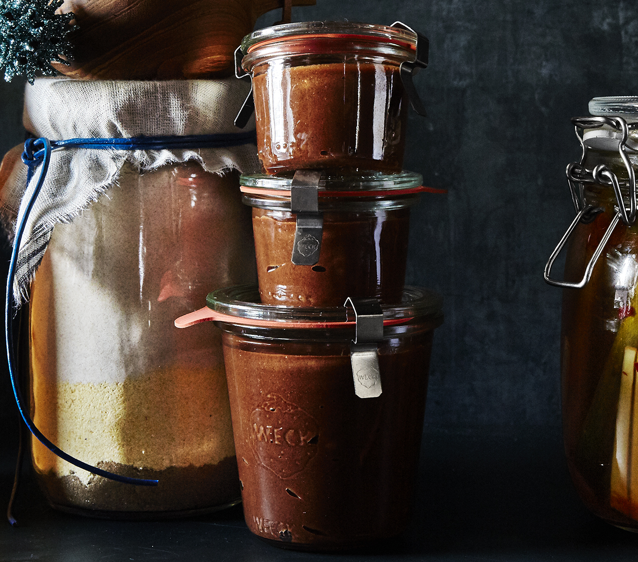 Food gifts: Salted Chocolate Caramel Spread
