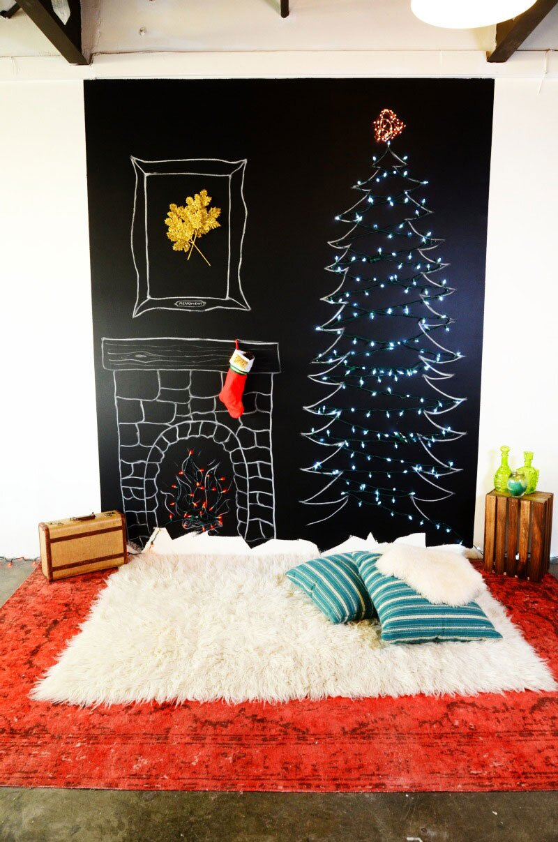5 of 14A Chalkboard Tree