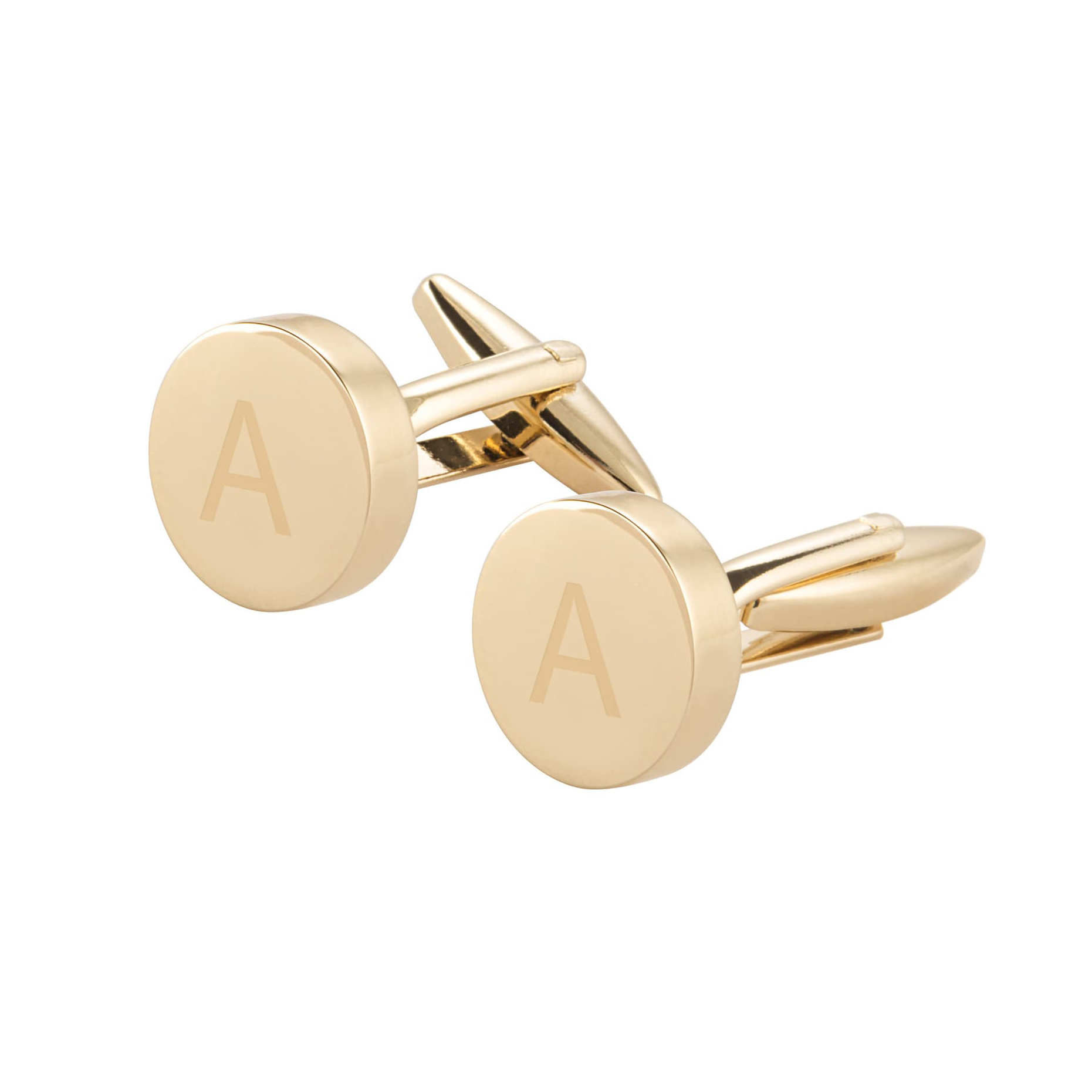 Cathy's Concepts Gold Cufflinks
