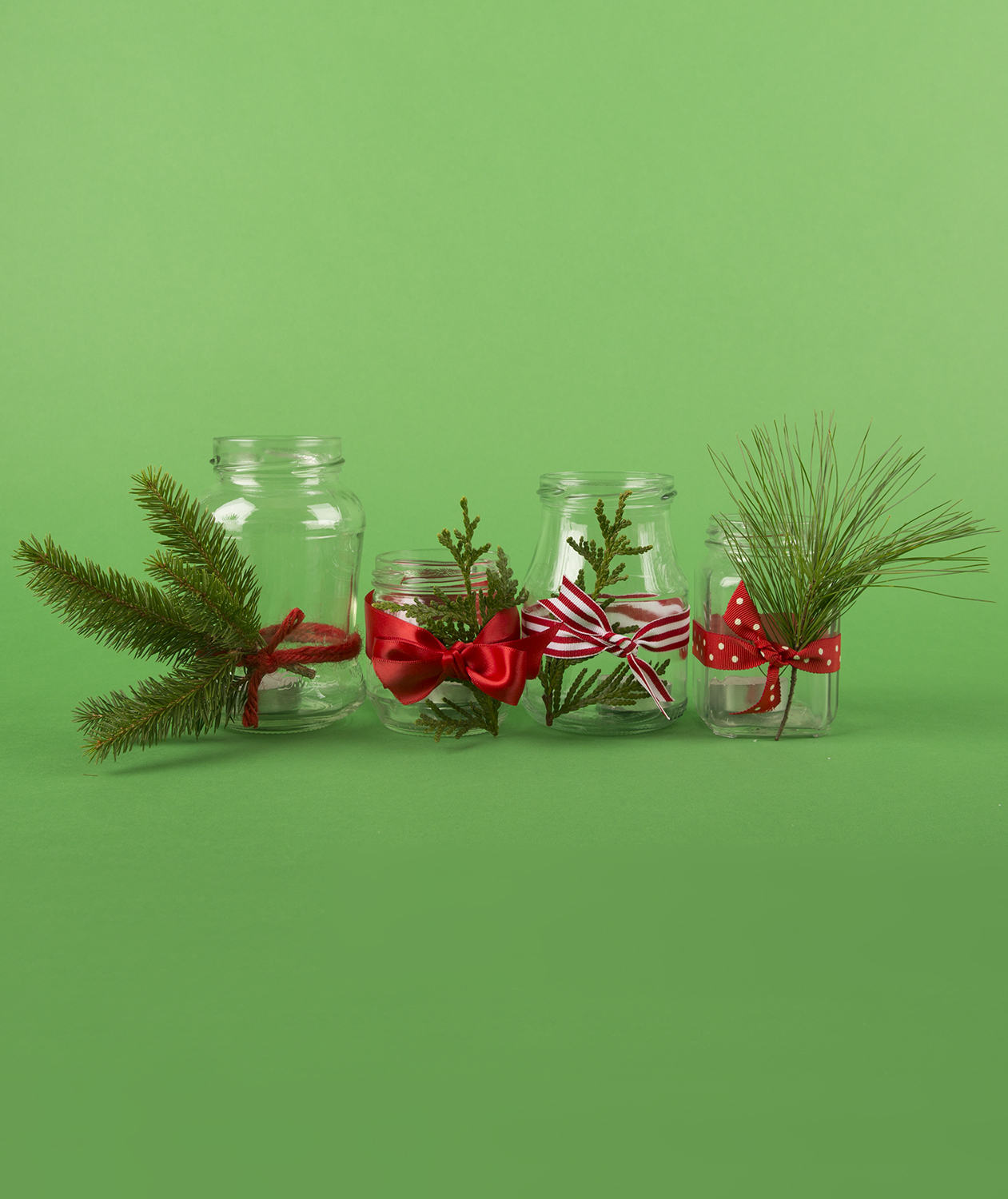 Christmas crafts ideas - Candleholders