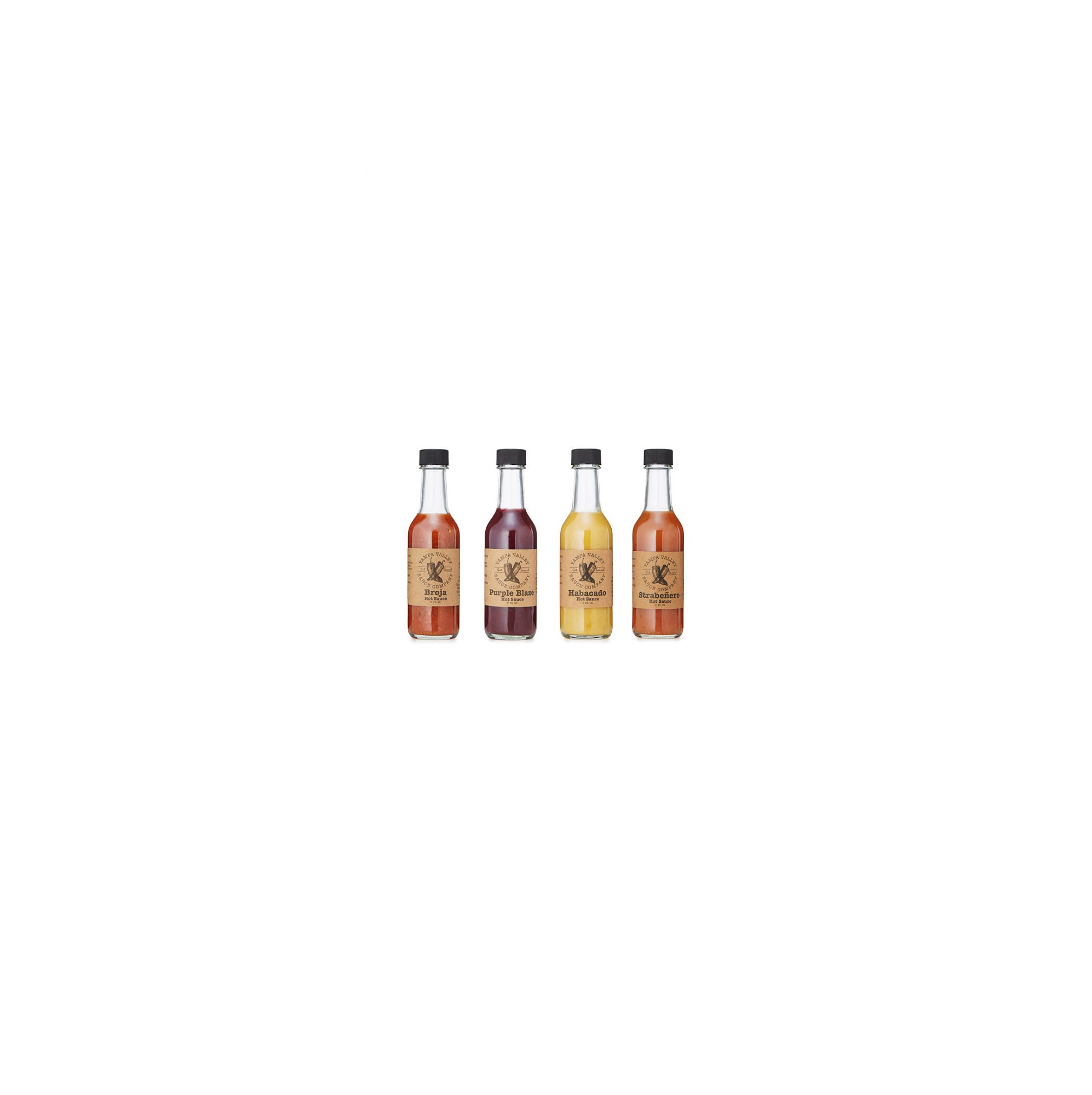 Yampa Valley Sauce Company Habanero Hot Sauces