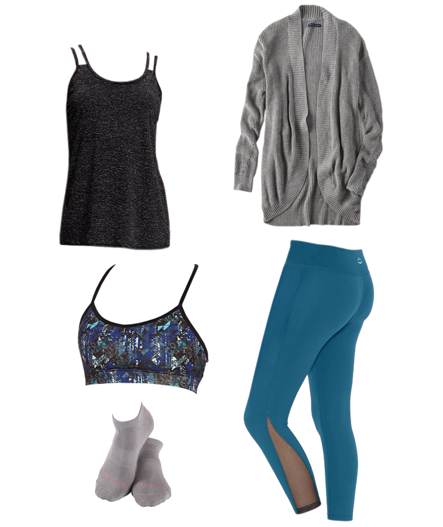 Raise Your Barre workout outfit