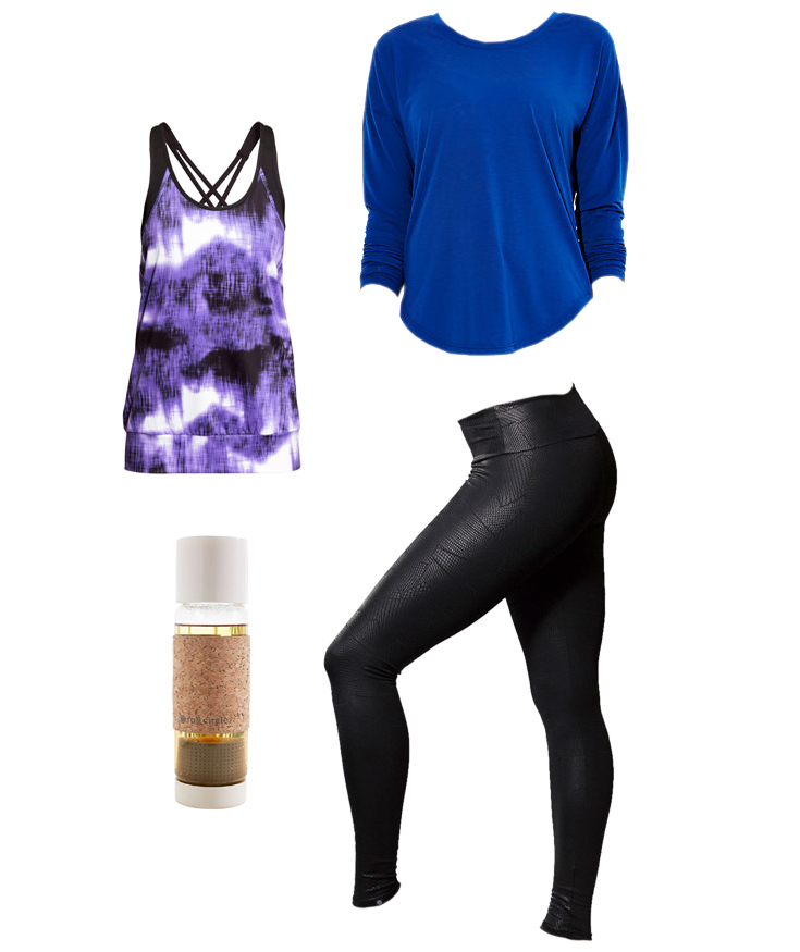 Powerful Yoga Prints workout outfit