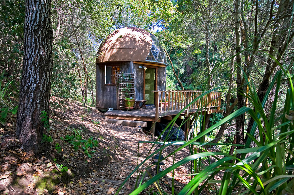 Mushroom Dome Cabin in Aptos, California