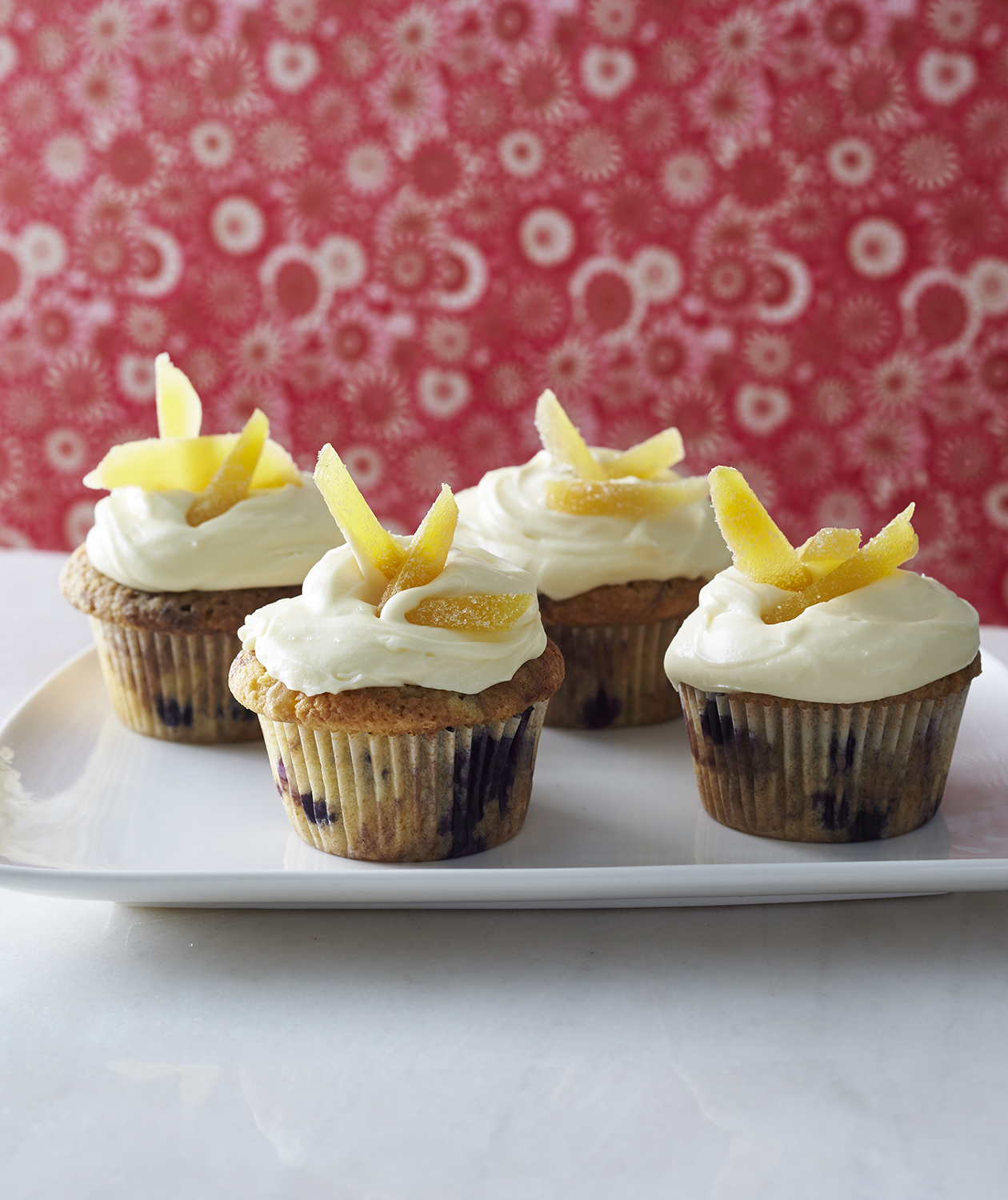 Blueberry Ginger Cupcakes
