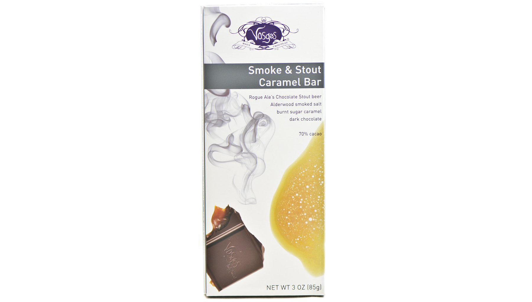 Smoke and Stout Caramel Exotic Candy Bar