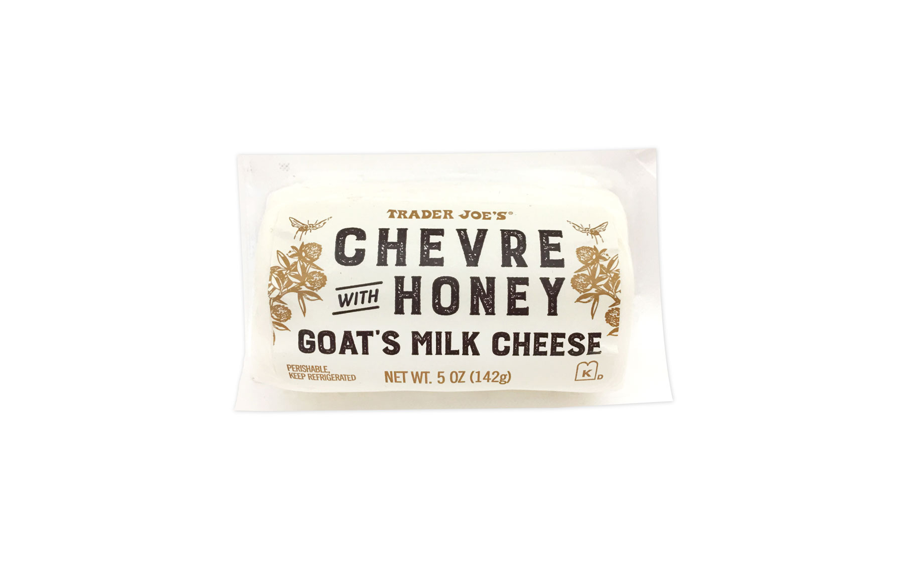 Trader Joe's products/editors' picks - Trader Joe's Chèvre with Honey Goat's Milk Cheese